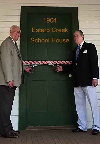 Ribbon CUtting Ceremony with Mayor Batos and Charles Dauray