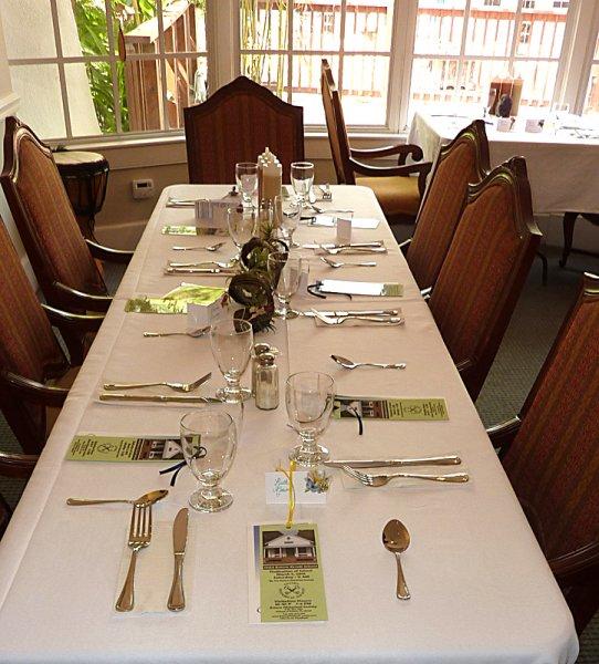 Lovely Table Settings