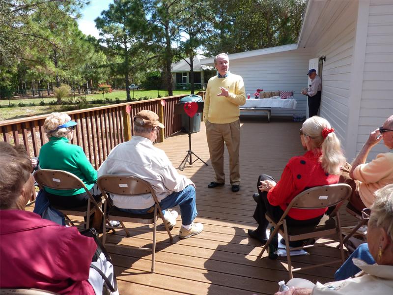 Charles Dauray Speaker Program