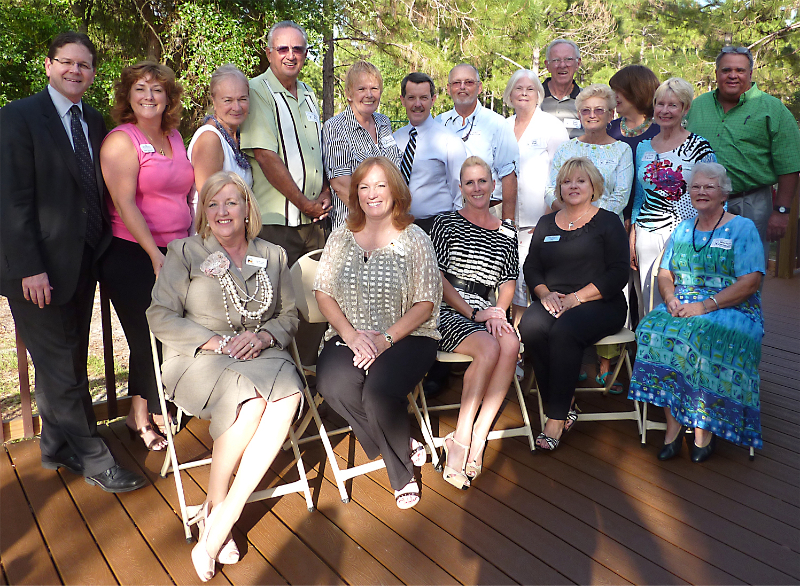 Hosting the Estero Chamber at the Hall House