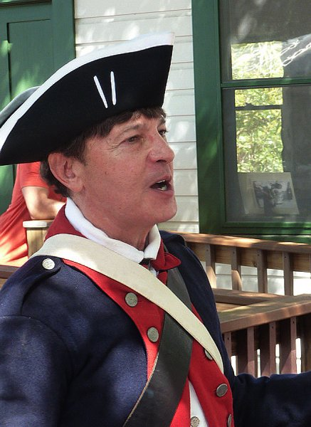 Jack Ciotti, historical re-enactor and teacher lead and organized the Brigade