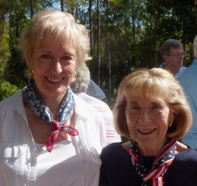 Marilyn Edwards and Eileen Galvin