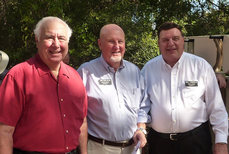 Mayor Nick Batos, Councilmen Jim Wilson and Bill Ribble
