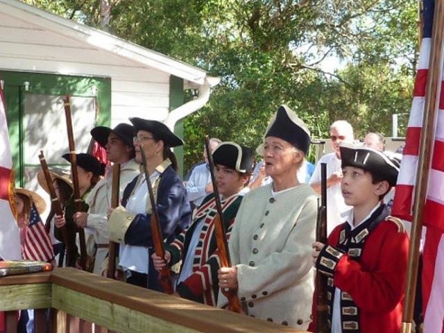 Brigade pledges its allegiance to the flag