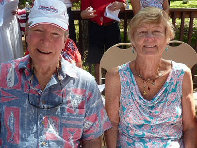 William and Eileen Lutz celebrated with the EHS