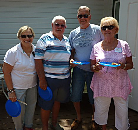 Barb & Skip Toth with friends Mary & Tony