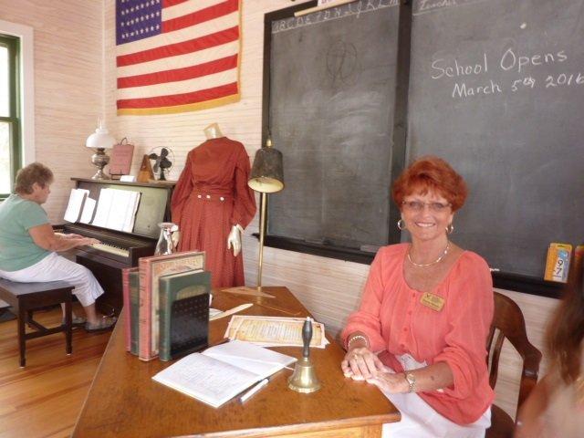Schoolhouse Docent, Diane Wisen