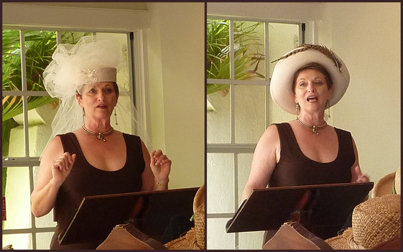 Dr. Pam Gerali shows us how different hats convey different feelings