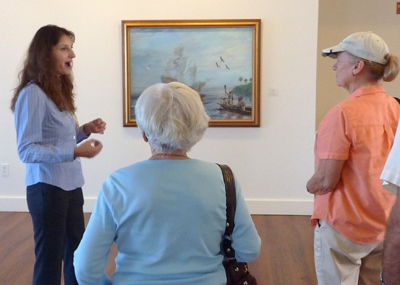 07-theresa-schober-talks-about-the-detailed-theme-of-the-painting-with-mary-popovich-and-carolyn-fischer