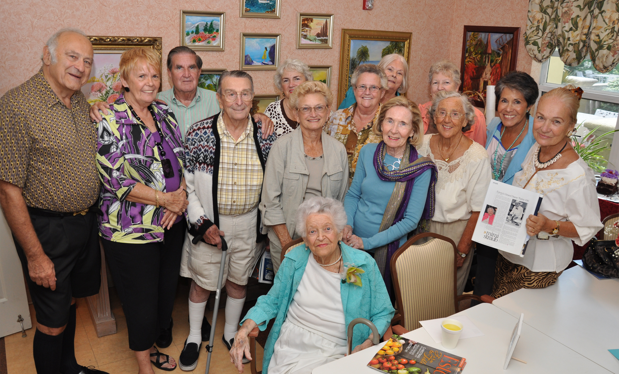 Mimi Straub's 100th Birthday