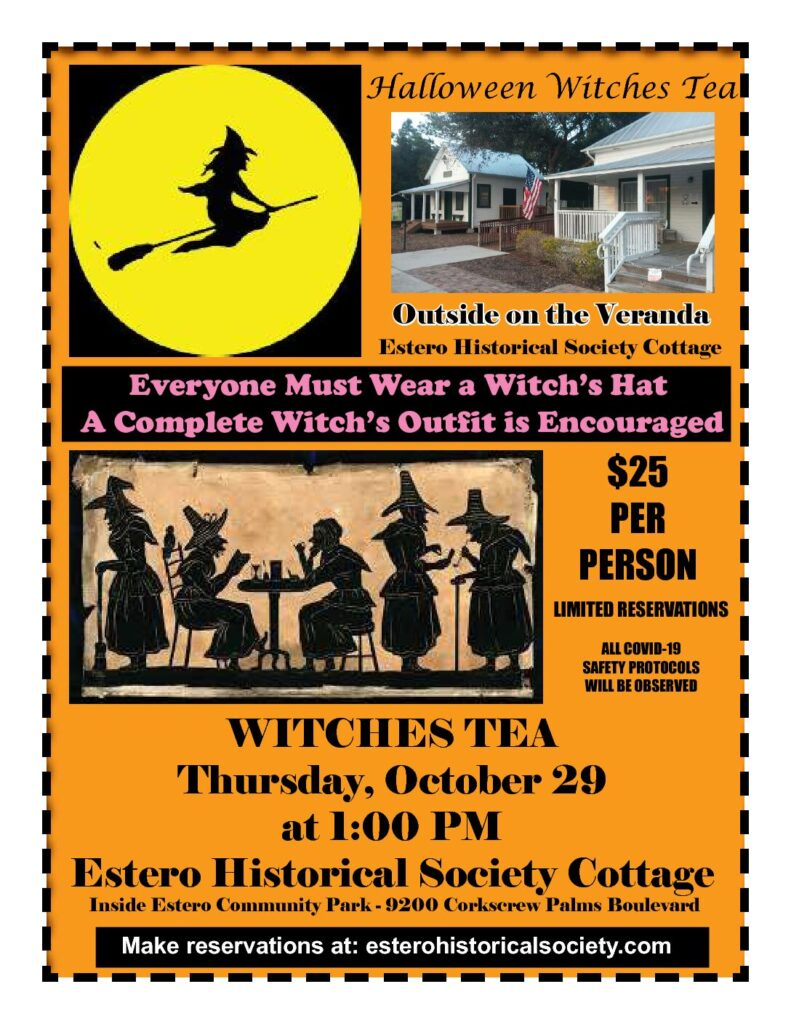 Halloween Witches' Tea
