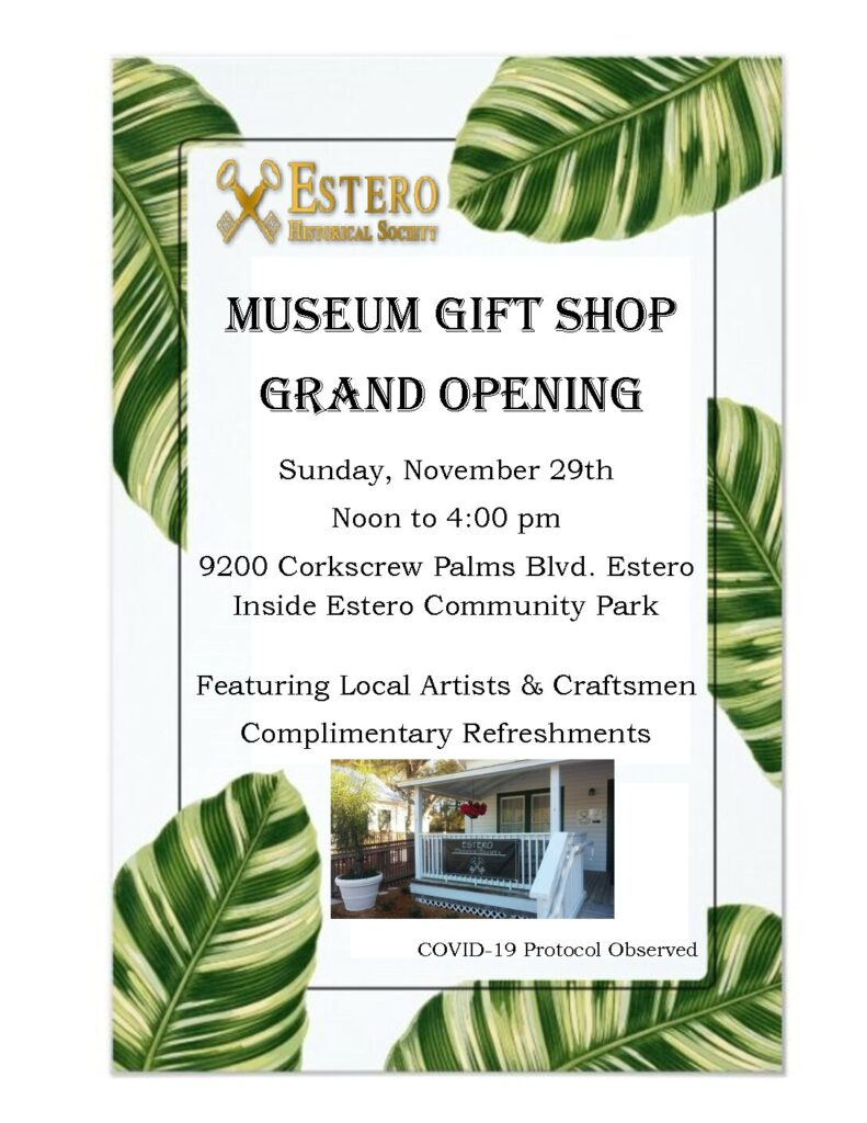 Museum Gift Shop Grand Opening