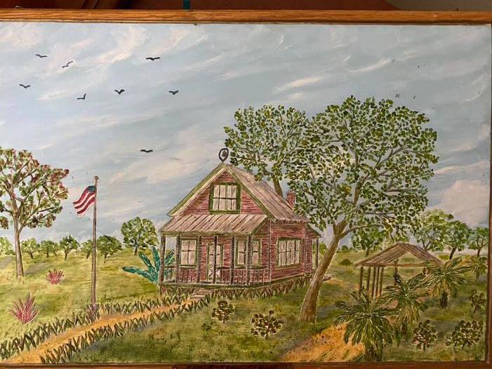 Schoolhouse Painting