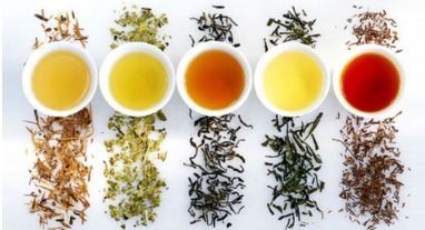 flavors of tea